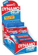 Dynamo Delay Spray 6 Packs Per Pop Display