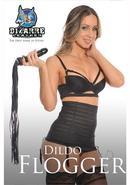 Bizarre Leather Dildo Flogger Black 30 Inch