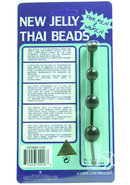 New Jelly Thai Beads Black