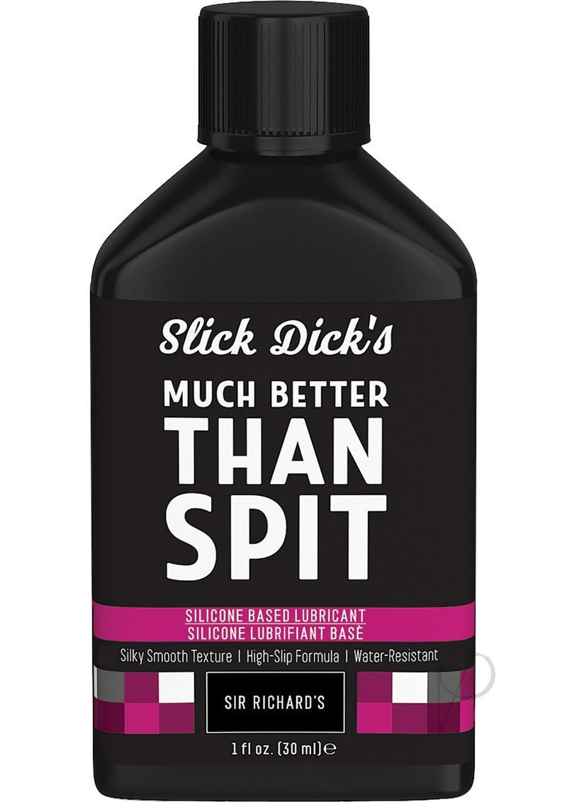 Slick Dick`s Much Better Than Spit Silicone Based Lubricant 1 Ounce