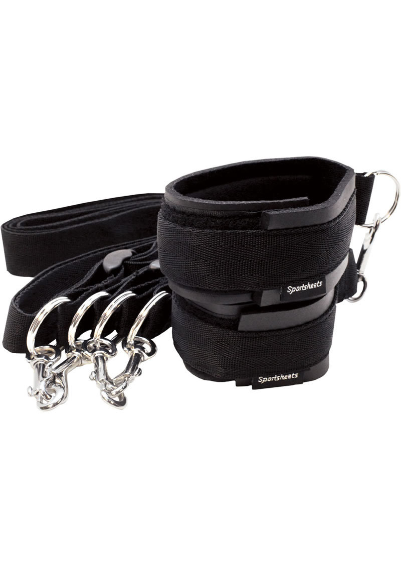 Sport Cuffs And Tethers Kit Black