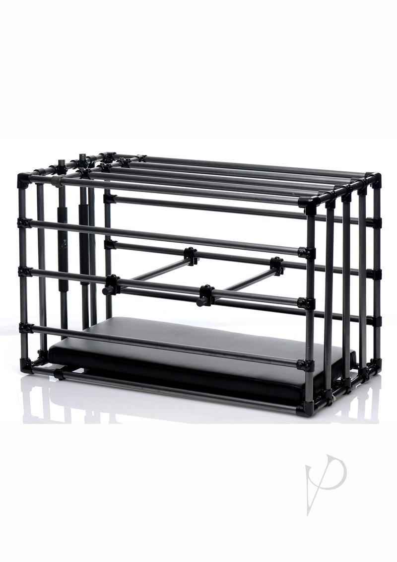 Ms Kennel Adjust Cage W/padded Board